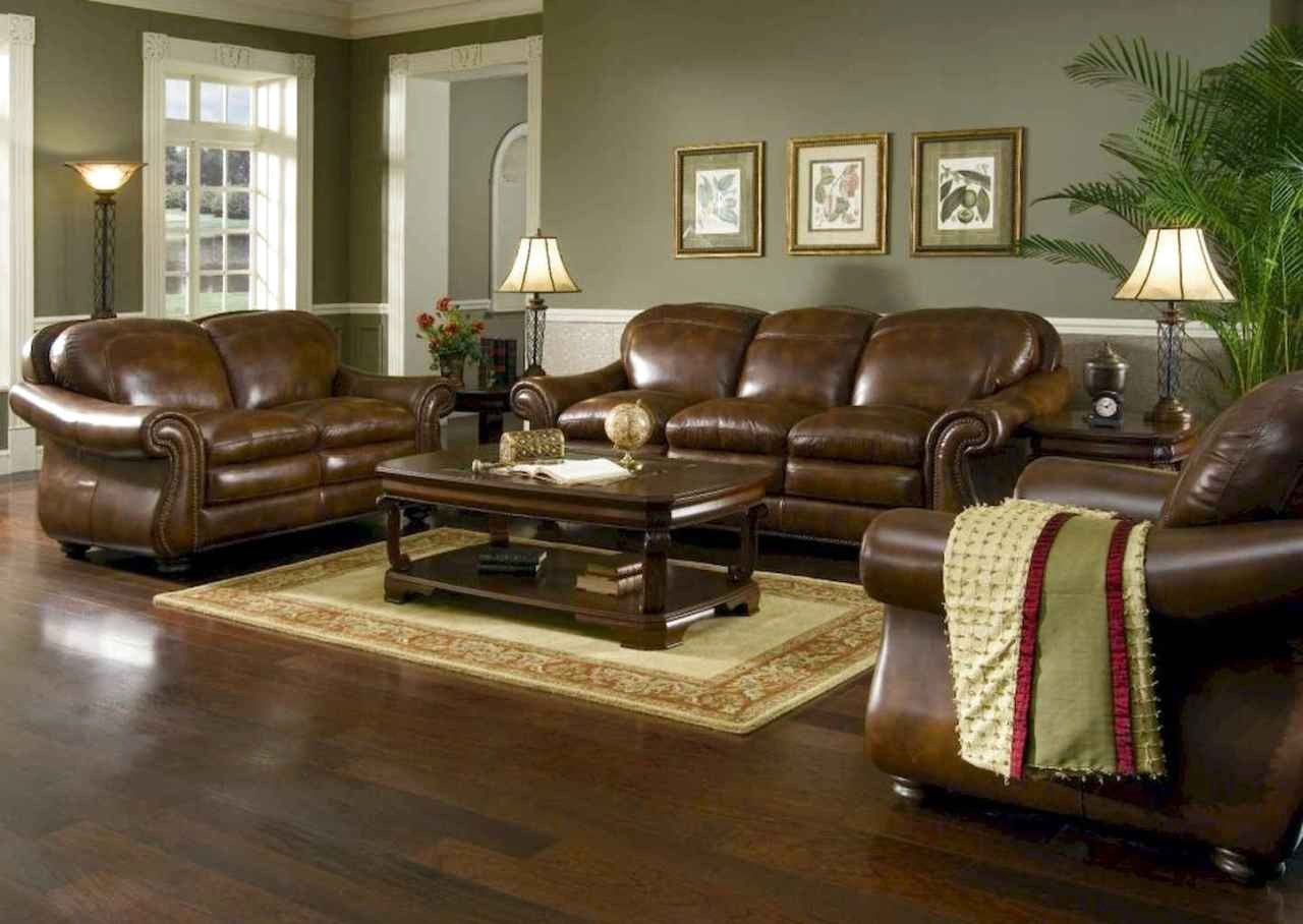 35++ Decorating ideas with dark brown leather furniture trends