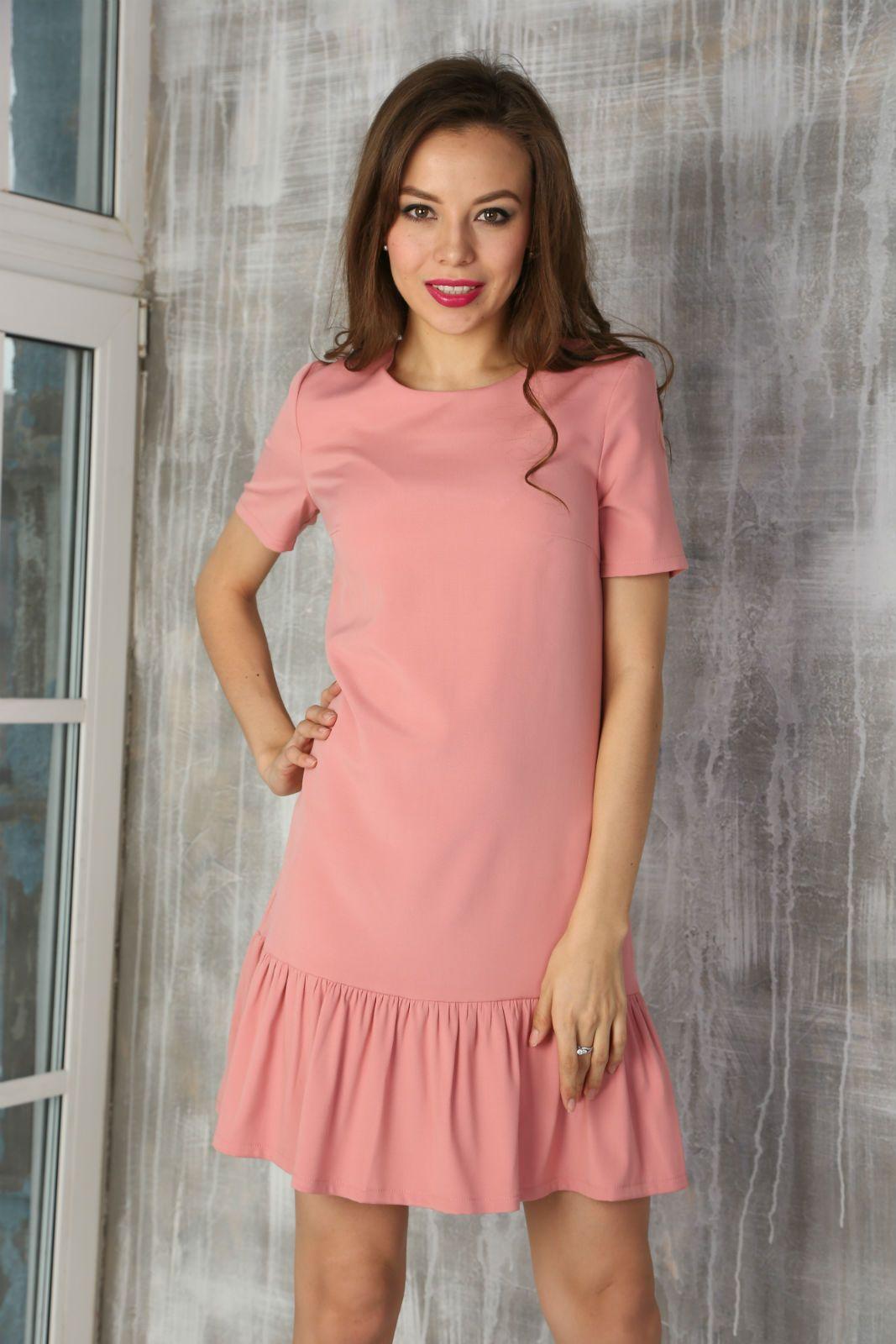 7ac9770c7952 Платье внизу с воланом (80 фото) 2017  с чем носить, широкое, короткое,  длинное, черное, модное