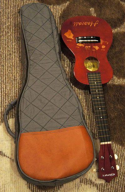 54622f01185 Inspired by Me: Handmade Ukulele Gig Bag (Finale) | Sewing | Ukulele ...