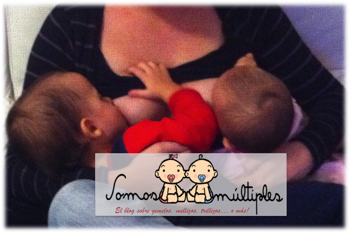 Amamantando a mis mellizos de 15 meses
