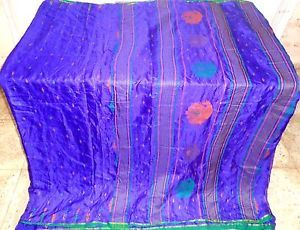 cool Blue Pure Silk four garden Classic Sari Saree every day promotions ebay promotions Sale Stylish #22IAQ Check more at http://rover.ebay.com/rover/1/711-53200-19255-0/1?ff3=2&toolid=10039&campid=5336869053&item=271916513177&vectorid=229466