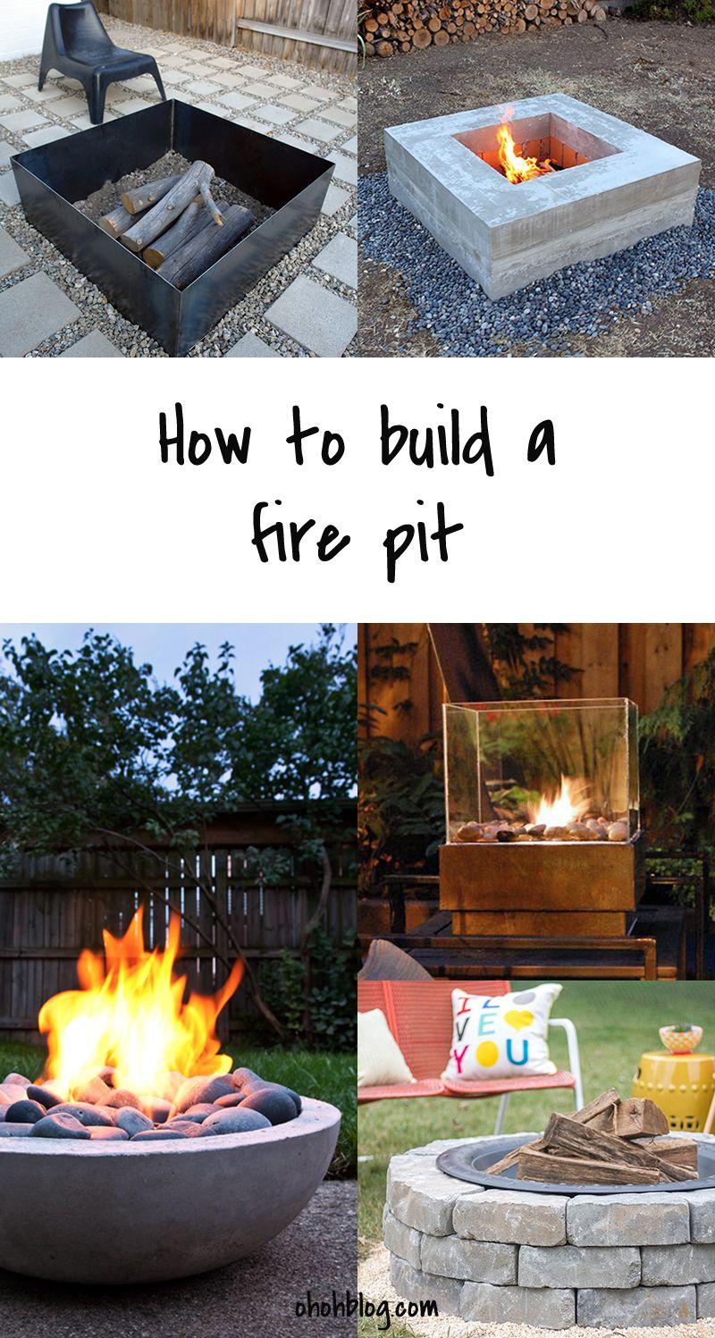 DIY to Try # Fire pit   Şömine