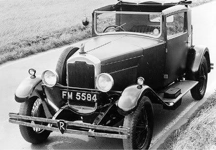 1929 Rover Sportsman