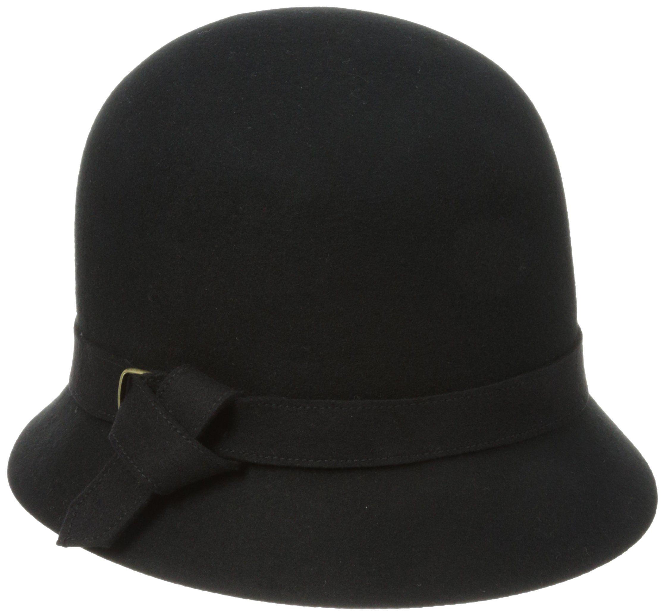 San Diego Hat Women's Felt Knot Buckle Cloche Hat, For