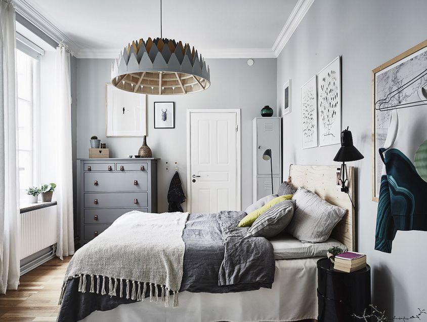 sypialnia w skandynawskim stylu HOME Pinterest Bedrooms