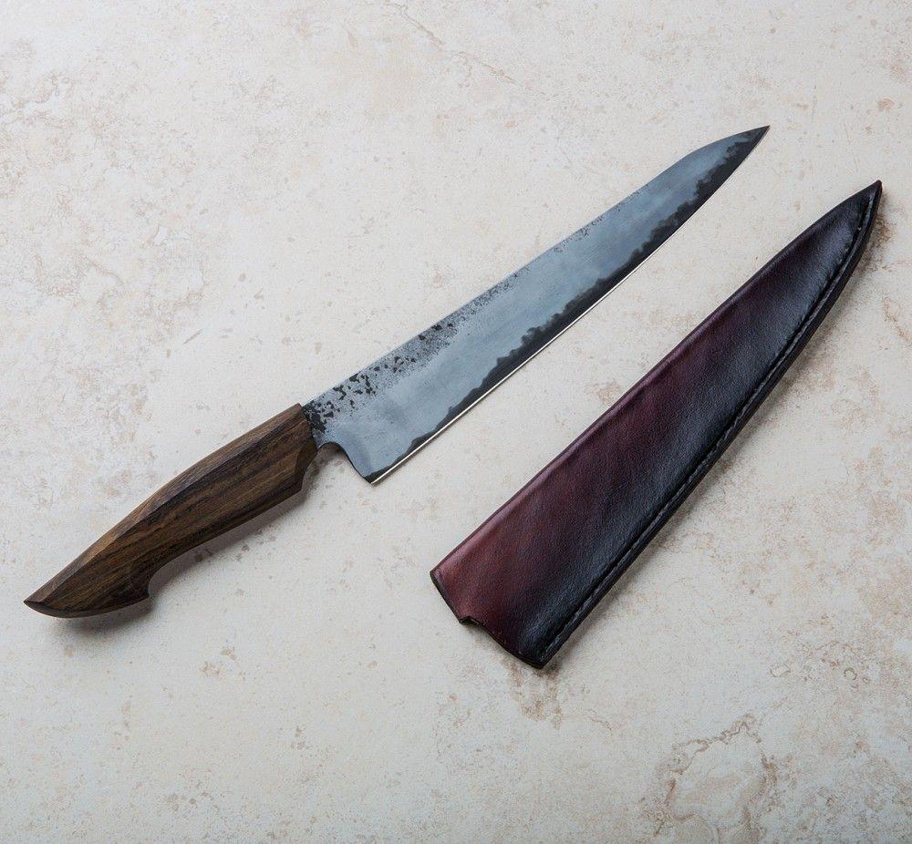 Chacate Preto Sujihiki 215mm custom chef knife by Jelle Hazenberg ...