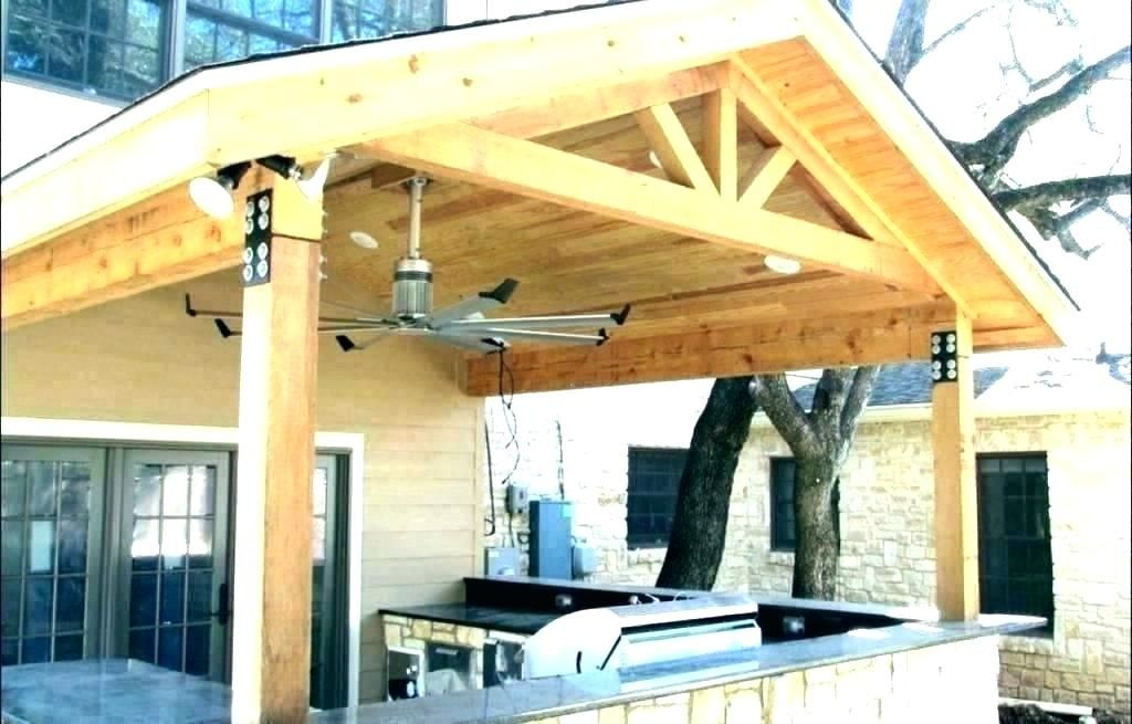 How To Build A Back Porch Roof In 2020 Patio Roof Roof Design Building A Pergola