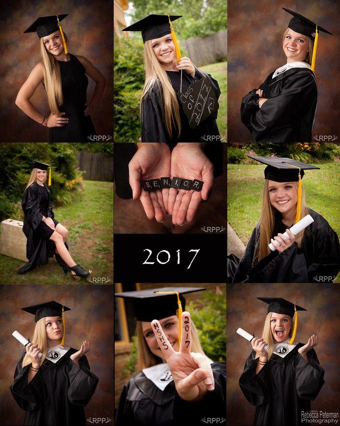 Trendy Cap & Gown Pictures Rebecca Peterman Photography | Senior ...