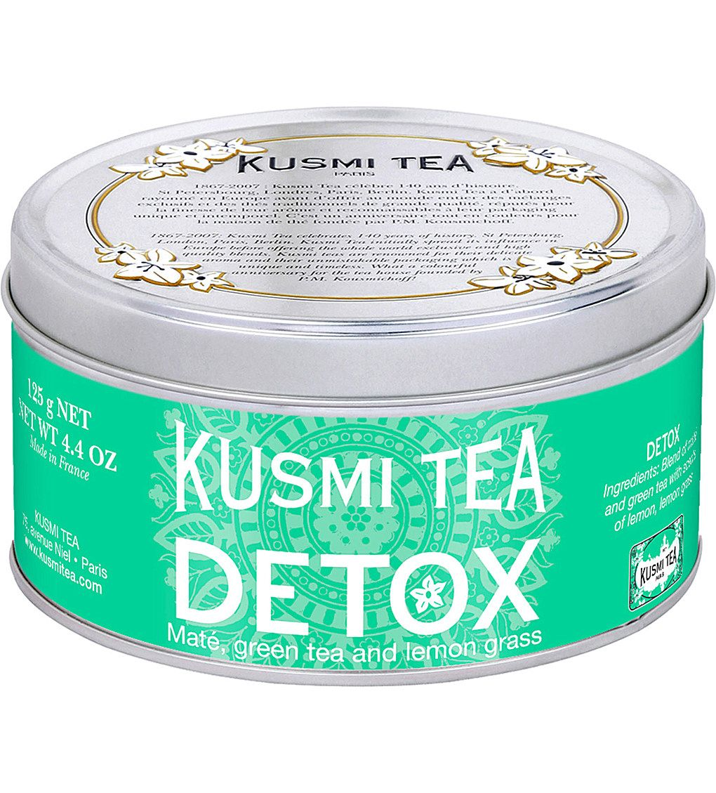 KUSMI TEA Detox loose leaf tea 125g   Green tea detox ...