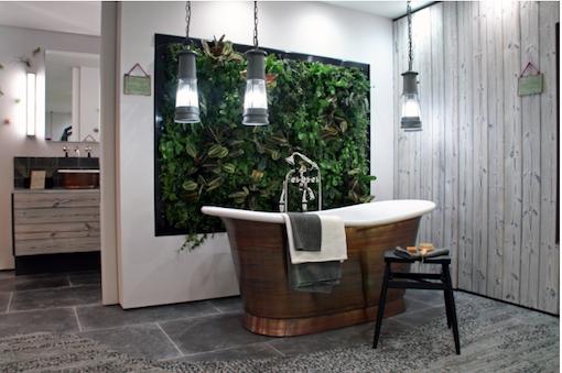 tableau-vegetal-sdb-baignoire-cuivre - Oliver Heath - Le blog déco ...