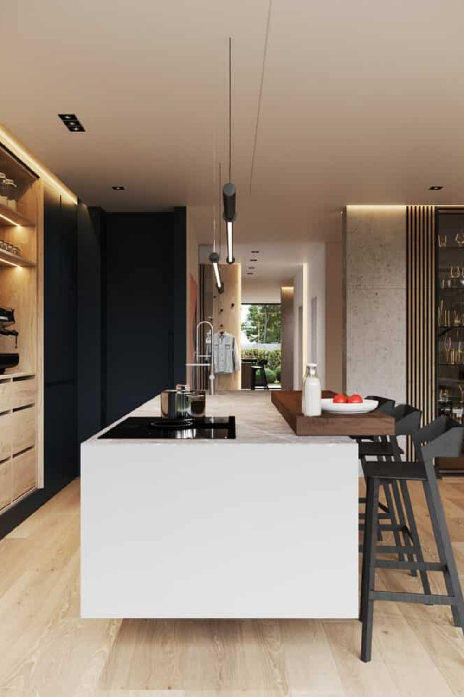 Minimalist Home Interior By Johny Mrazko And Studioe Minimalist Home Minimalist Home Interior Loft Interior Design