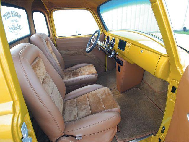 1953 Chevy 3100 Custom Classic Truck Custom Trucks Sport Truck Magazine Chevy 3100 Truck Interior Chevy