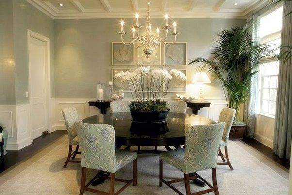 I Like This It Is A Soft Look For A Dining Room But It Is