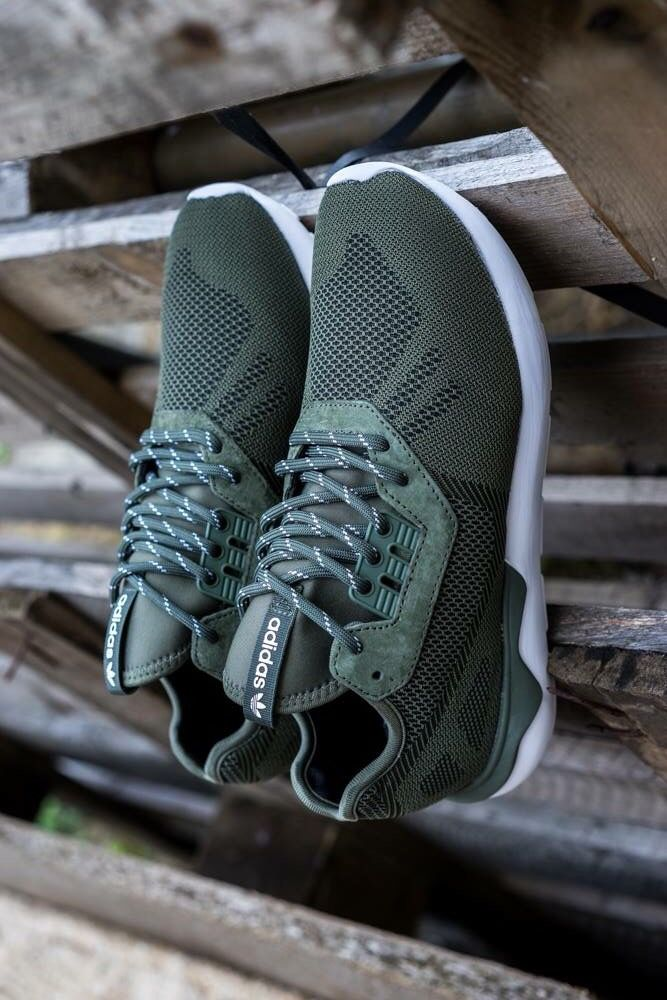 adidas Originals Tubular Weave  Green  96ae478cf