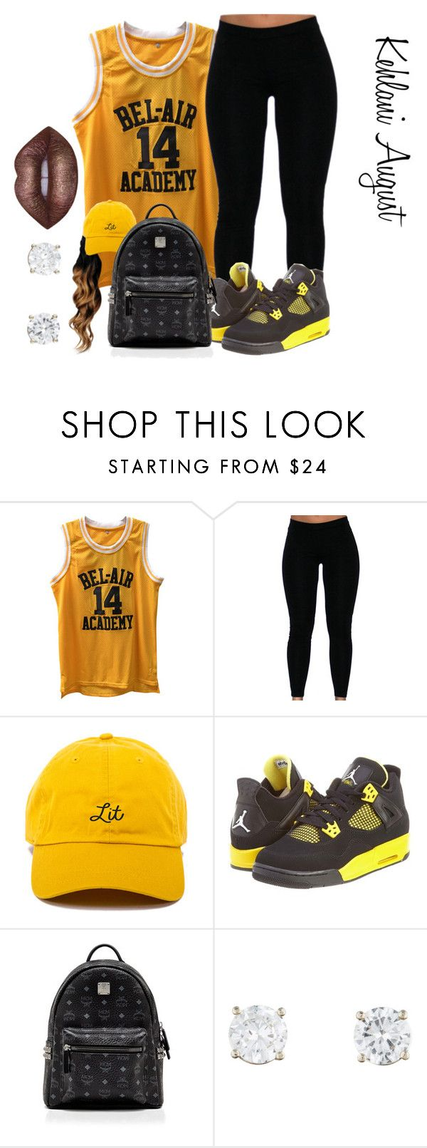 """""""Outfit # 66"""" by diamondslove ❤ liked on Polyvore featuring NIKE, MCM and Lime Crime"""