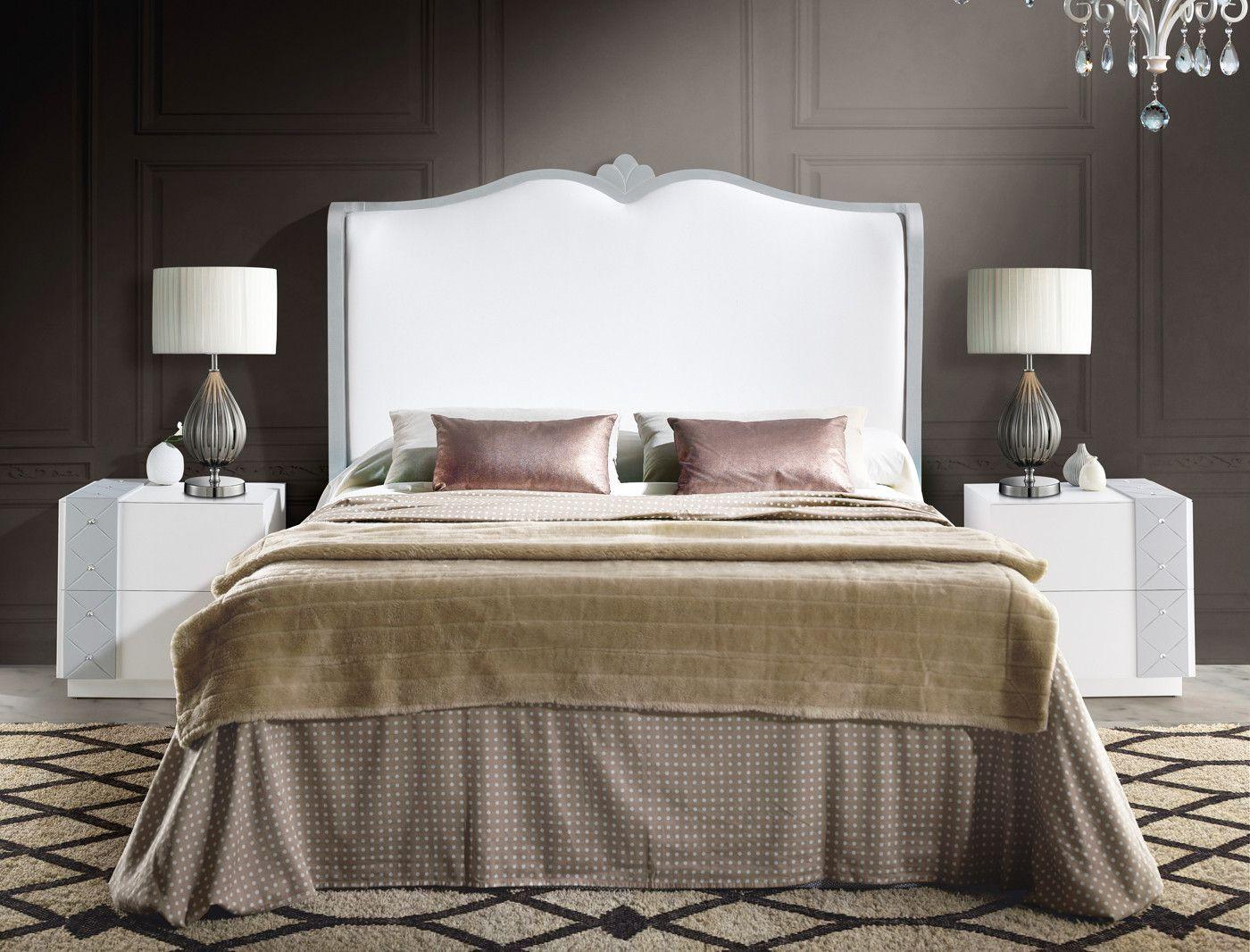 Muebles dormitorio cabecero clásico tapizado - dm | Camas de ...