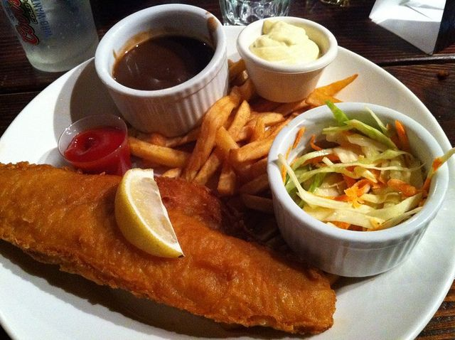 Fish And Chips With Guinness Gravy Fish And Chips Canada Food Food