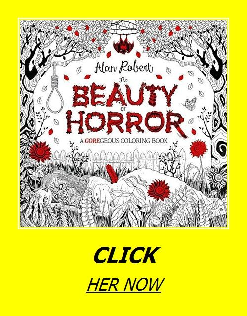The Beauty of Horror 1: A GOREgeous Coloring Book in 2020 ...