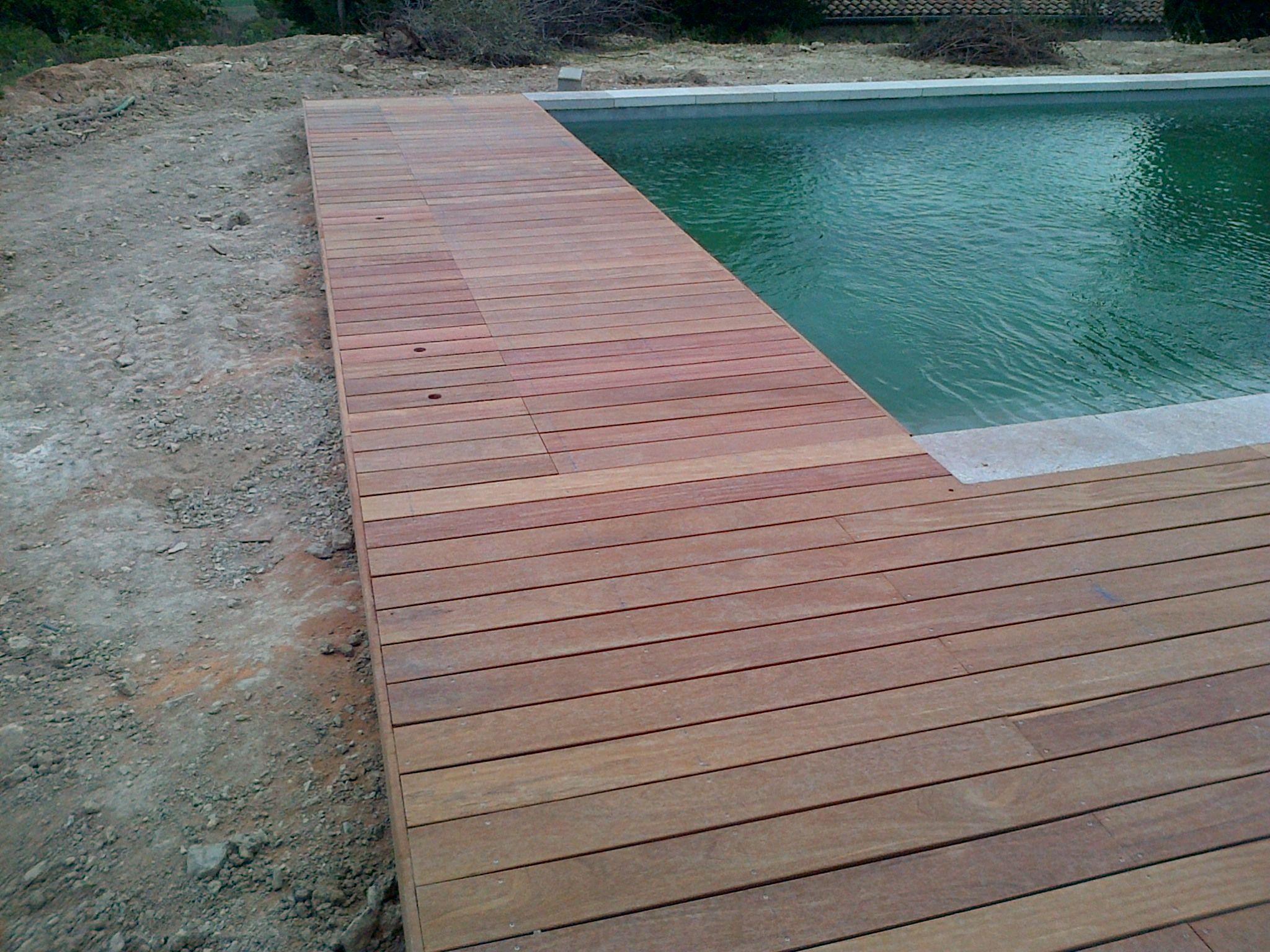 Tour de piscine en bois exotique dans les bouche du rhone 13 piscine piscine bois tour de - Tour de piscine en bois ...