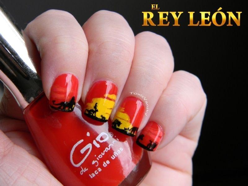 It\'s the ciiiiiirrrrle of life! | Pinterest | Disney nails art ...