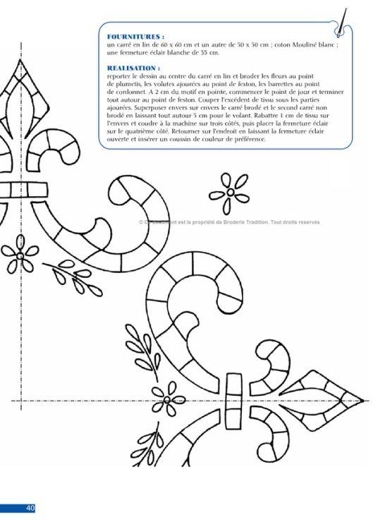 Pin de Gueli Weli Weli en Richelieu | Pinterest | Bordado, Patrones ...