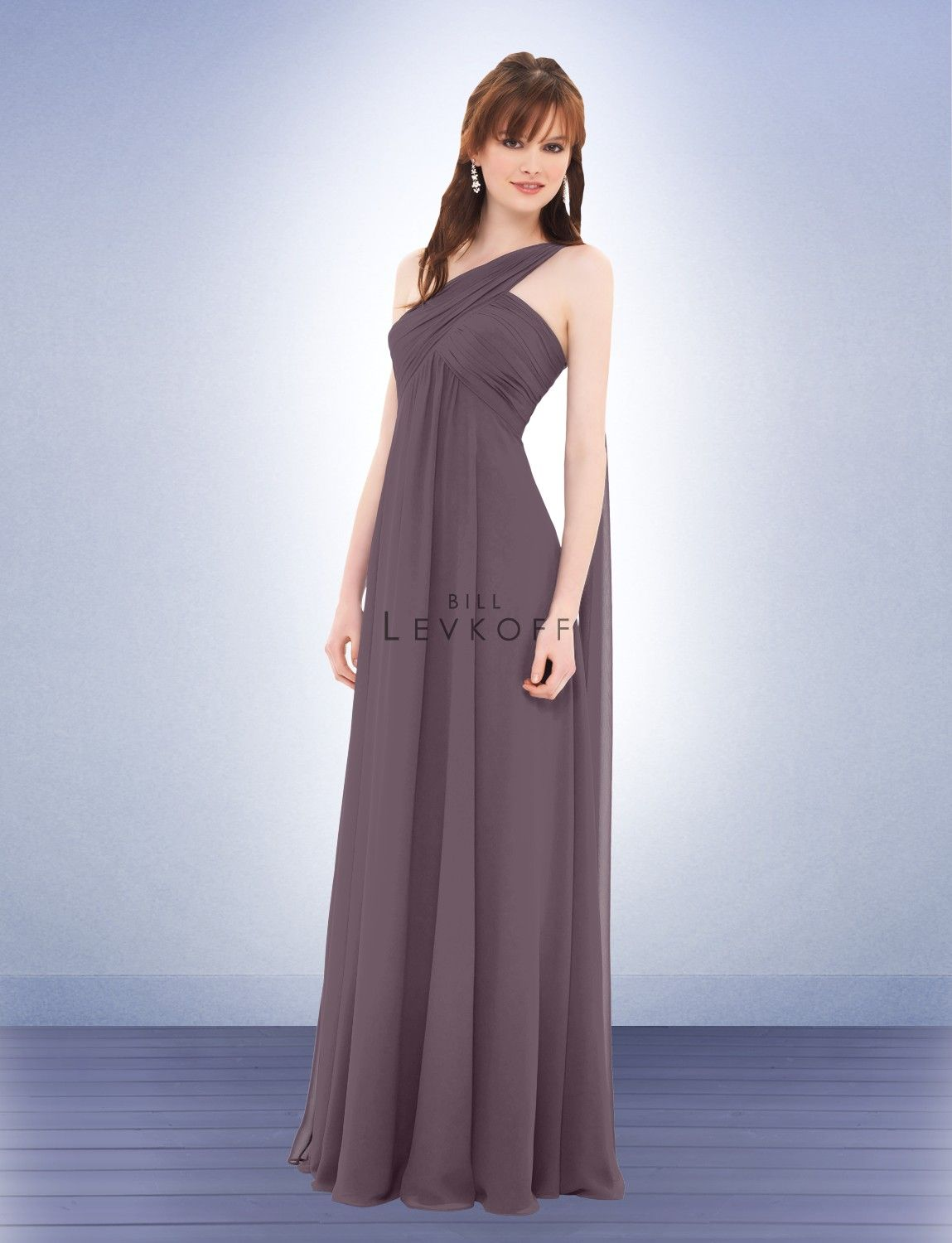 Bill Levkoff, color: victorian lilac, Style 675 My Bridesmaid ...