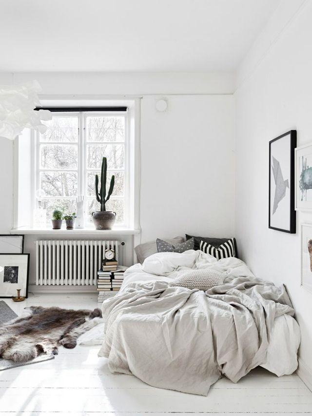 Scandinavische slaapkamer | Room Inspiration | Pinterest | Bedrooms ...