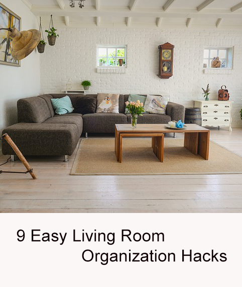 9 Easy Living Room Organization Hacks  Organizations Organizing Glamorous How To Organize A Small Living Room Decorating Design