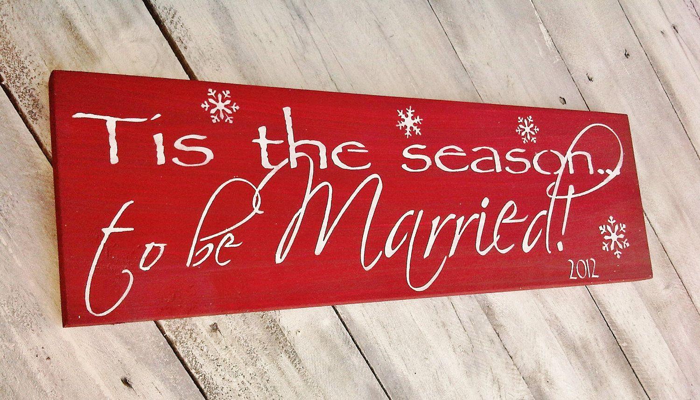 Christmas Wedding Decor u0027Tis the Season to