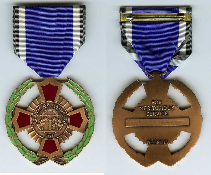 National Guard Meritorious Service Medal Service