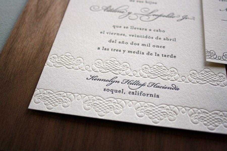 25 wonderful image of spanish wedding invitations fun