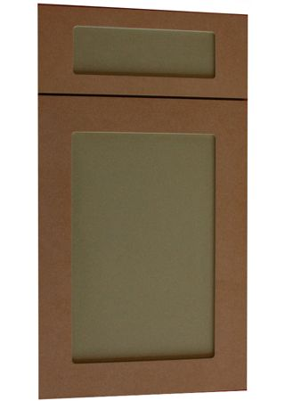 Shaker Plain Style MDF Door For Painting