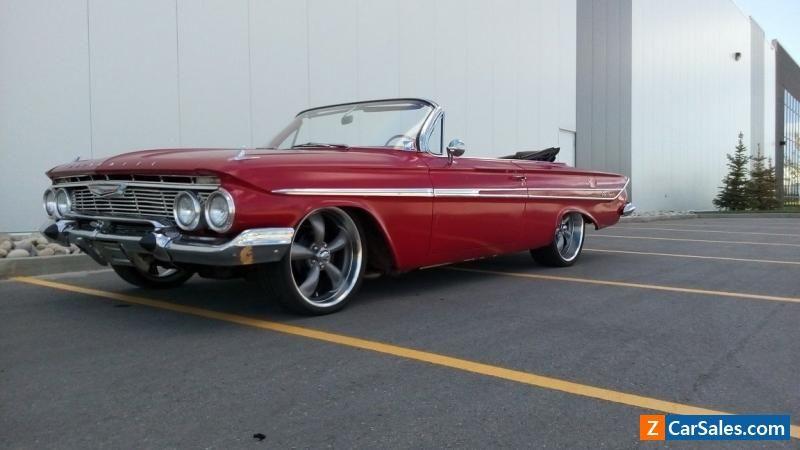 Car For Sale 1961 Chevrolet Impala