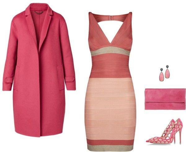 Hervé Léger Red Dress