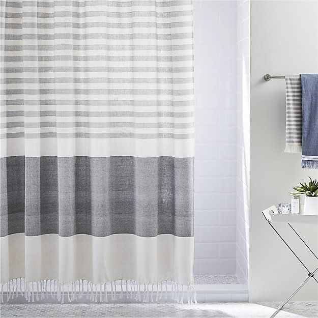 Karla Copper Shower Curtain Reviews Modern Shower Curtains