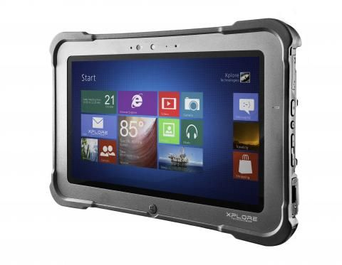 P Rugged Tablet Maker Xplore Technologies Has Unwrapped Is Latest Fully Rugged Tablet A Relatively Lightweigh Windows Tablet Tablet Rugged Tablet