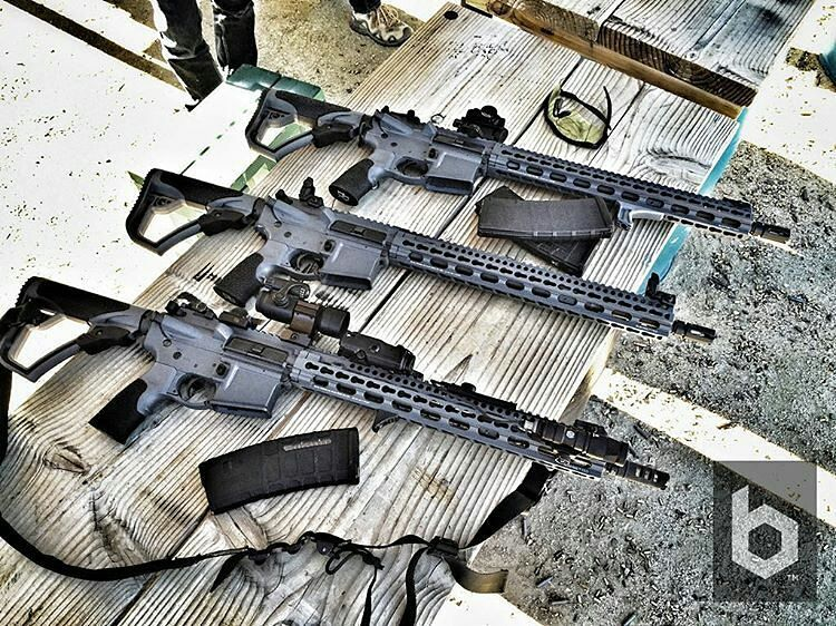 from @ballisticmag - Here's a behind the scenes look from @ballisticmagazine Issue 1. 3 Daniel Defense M4V11 LW's lined up and ready for field evaluations. #danieldefense #ballisticmagazine #ar15 #gunporn
