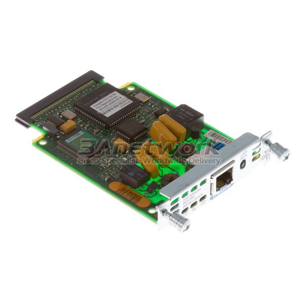 HWIC-1DSU-T1 Cisco 1-Port T1//Fractional T1 DSU//CSU WAN Interface Card