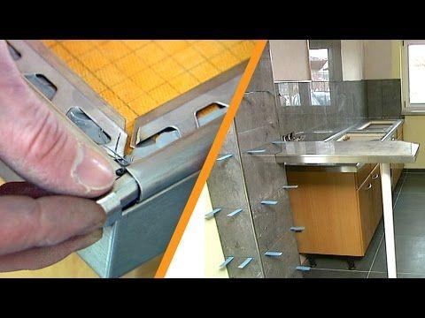 Kerdi Board Kuchenarbeitsplatte Mit Fliesen Youtube Kuchenarbeitsplatte Kuche Grill Kuche