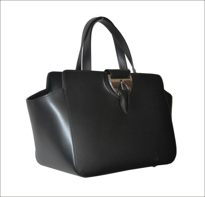d634f1e053 Marc Jacobs · Δερμάτινη τσάντα ΝICOLI-Made in Italy Μοντέλο 2771 black  Τιμή  211€ Βρείτε