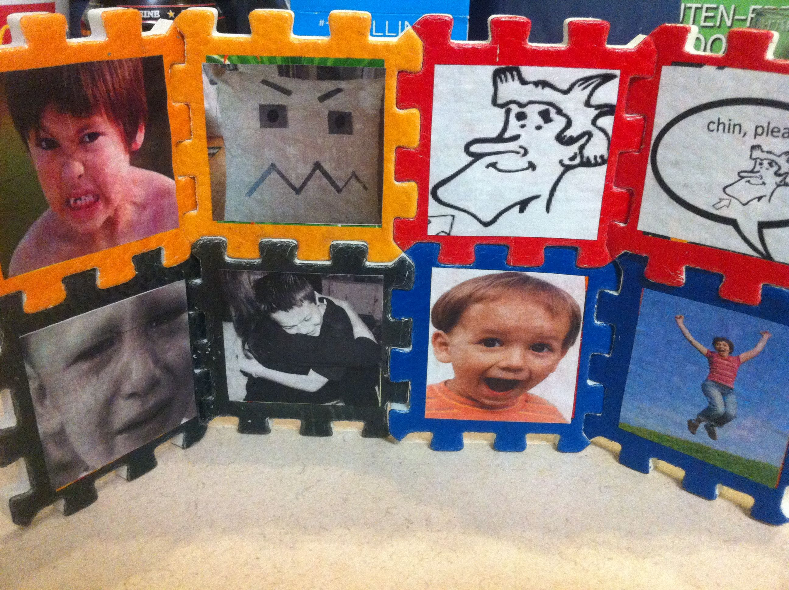 Mod Podge Your Own Images On A Dollar Tree Puzzle For