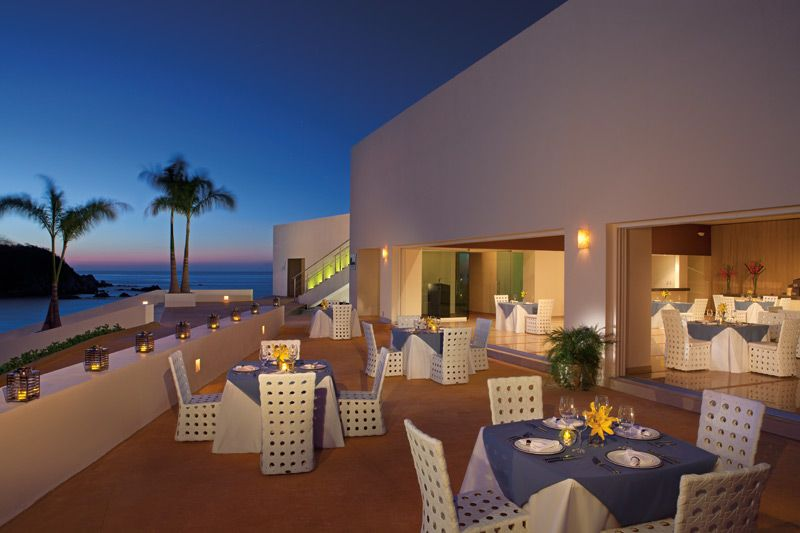 Oceana Restaurant Is A Great Place To Have Your Wedding Reception SecretsHuatulco Mexico