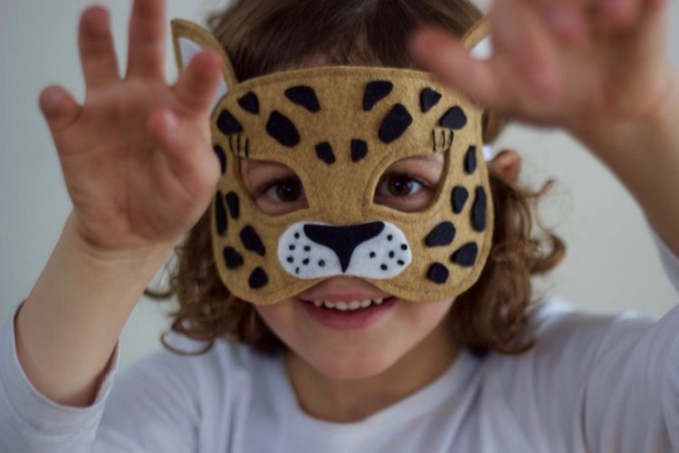 Wild Things - A New Safari Mask Sewing Pattern | Tier und Basteln
