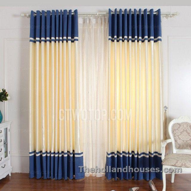 Bedroom Curtains Design Royal Blue Bedroom Curtains  Curtains Design  Pinterest  Blue