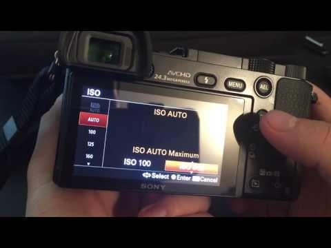SONY Alpha a6000 Mirrorless Camera    Low Light Settings TUTORIAL - YouTube