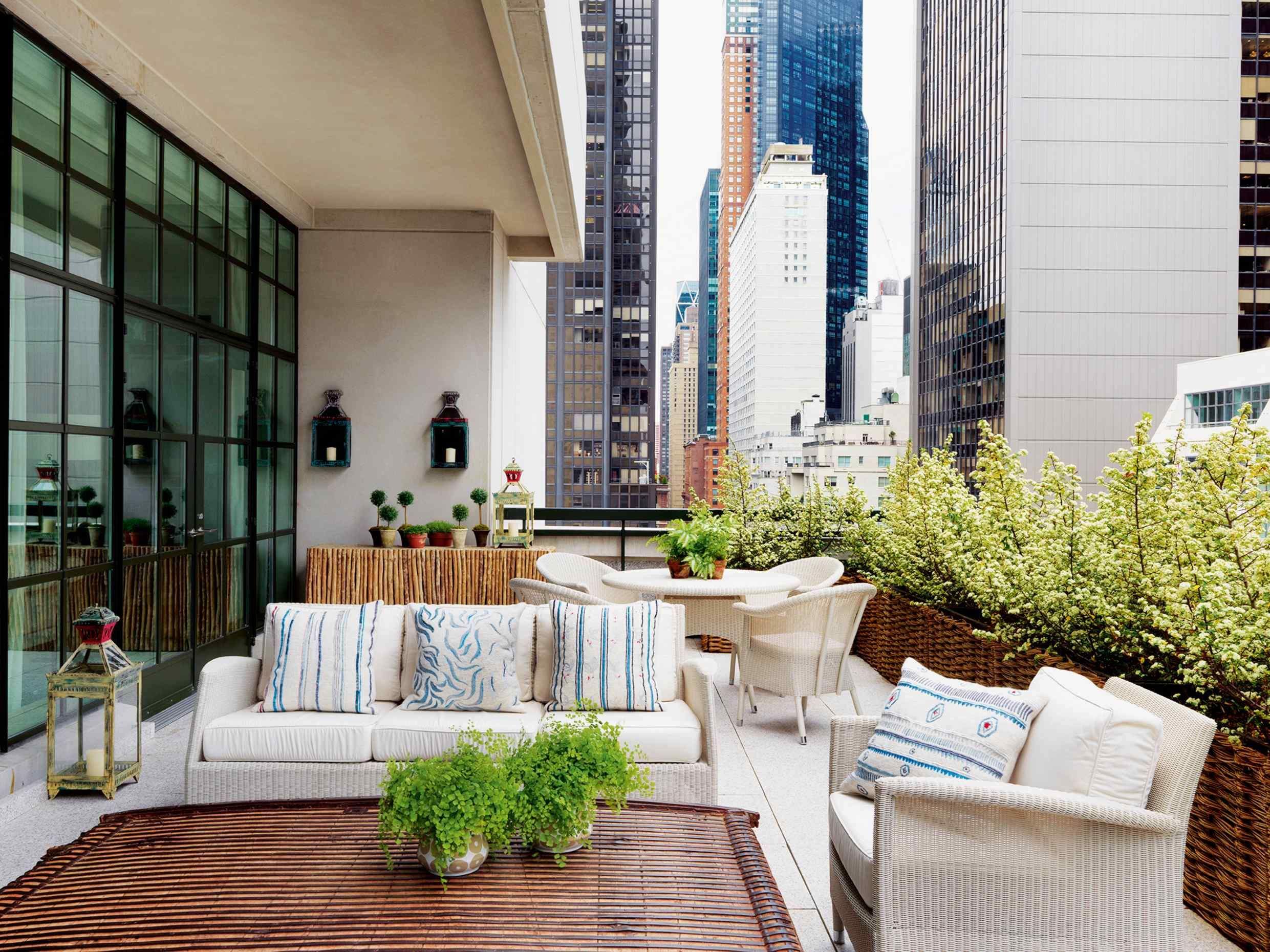 The Terrace Of The Magnificent New Penthouse Suite At The