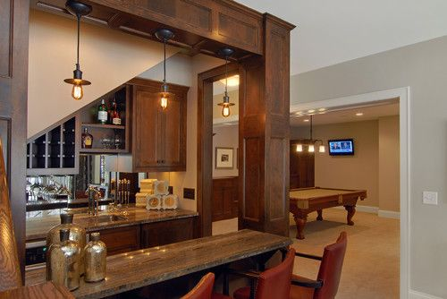 Basement Design Ideas Pictures Remodel And Decor Bar Under Stairs Basement Design Basement Bar