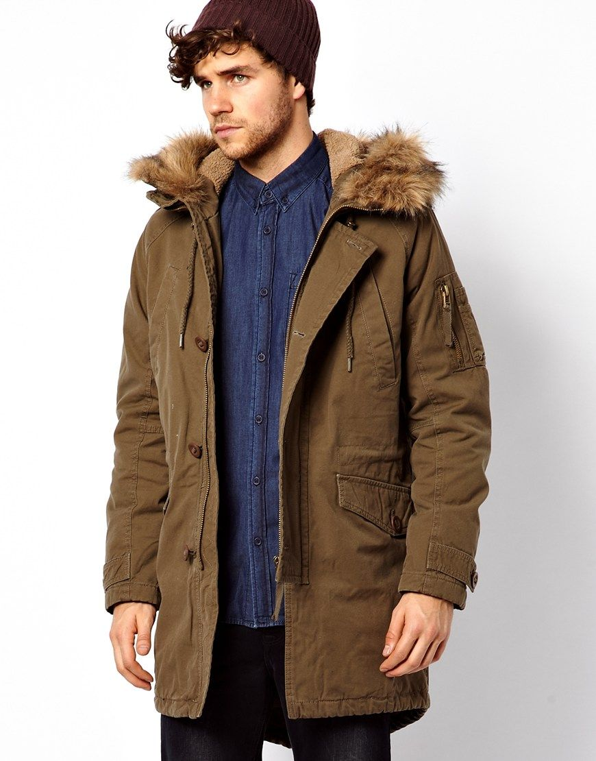 Images of Mens Long Parka - The Fashions Of Paradise