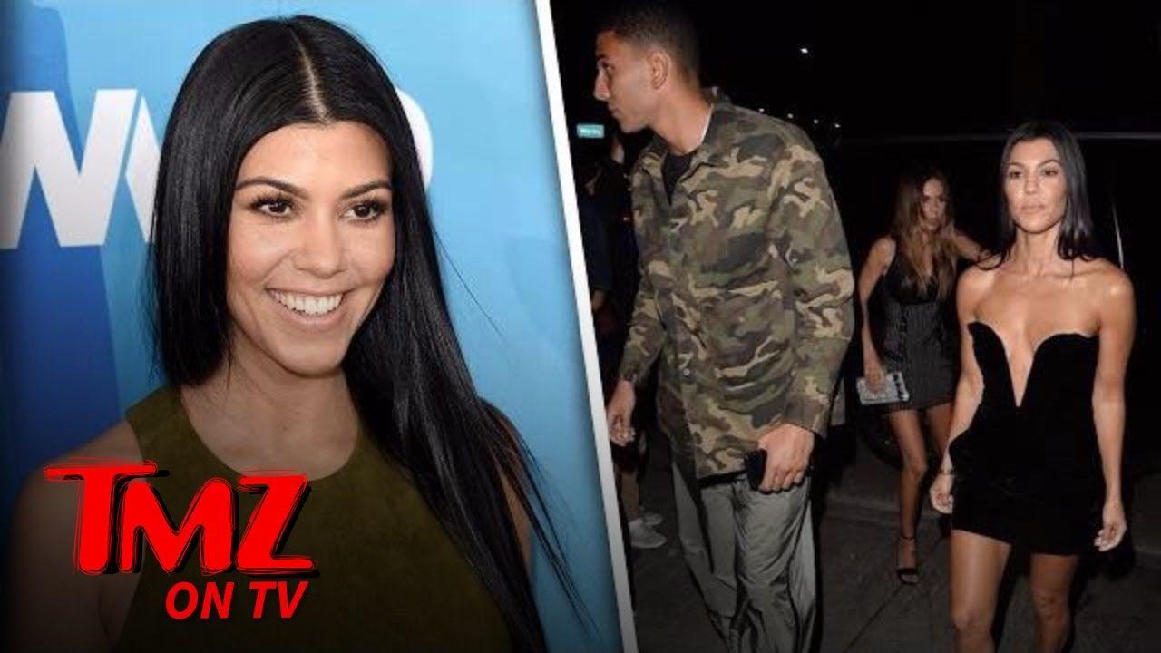 Kourtney Kardashian Steps Out With Younes Bendjima In A Little Black