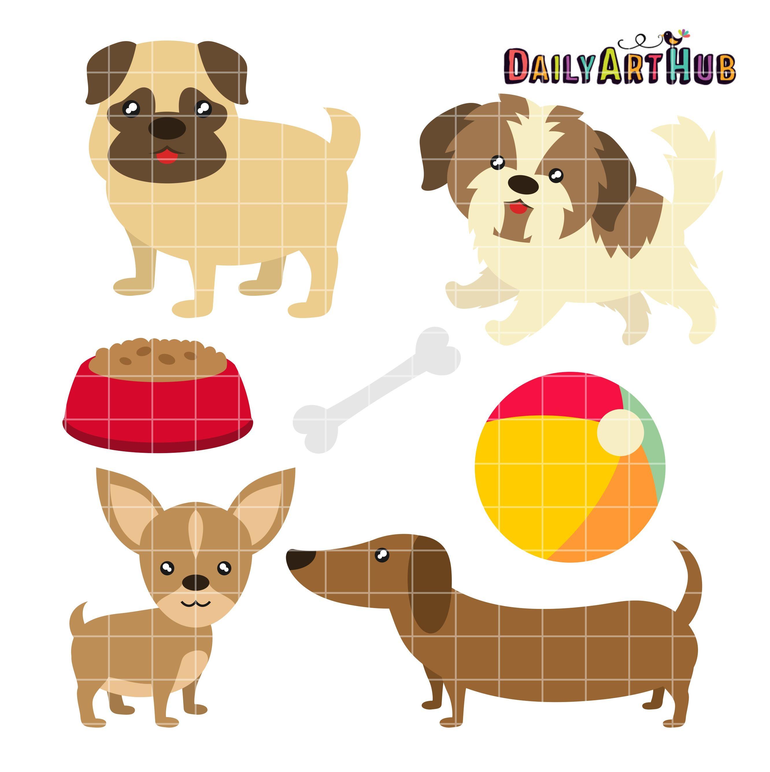 Toy Dog Breeds Clip Art Set Toy Dog Breeds Art Hub Dog Quilts